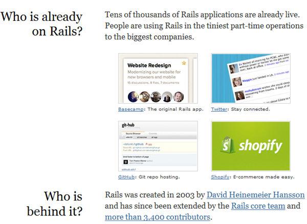 rails framework